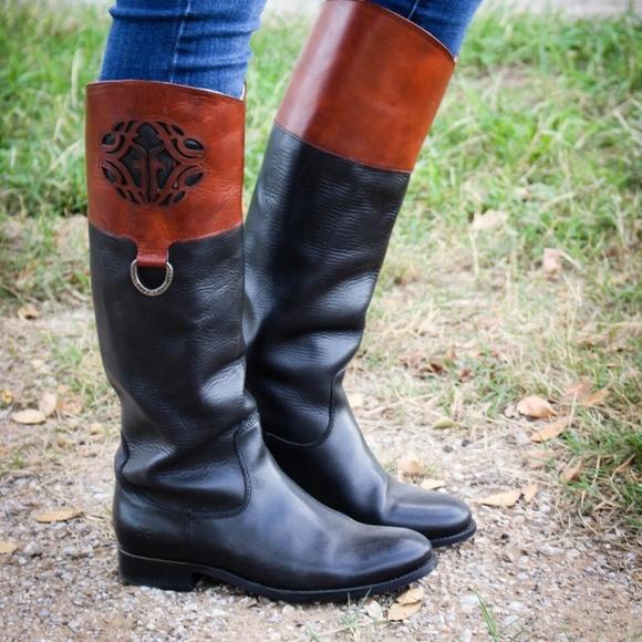 frye melissa logo  Frye Shoes | Melissa Logo Boots | Poshmark